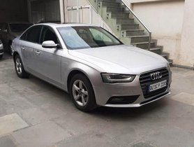 2012 Audi A4 2.0 TDI AT for sale at low price in New Delhi