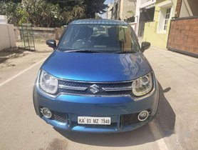 Used Maruti Suzuki Ignis 1.2 Alpha MT car at low price in Nagar
