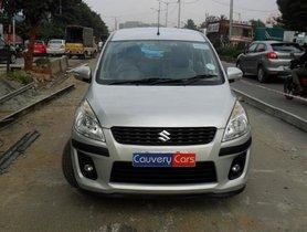 2013 Maruti Suzuki Ertiga ZDI MT for sale at low price in Bangalore