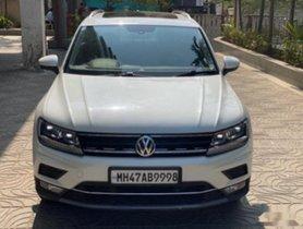 2018 Volkswagen Tiguan 2.0 TDI Highline AT for sale at low price in Mumbai