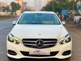Mercedes Benz E-Class 2009-2013 E250 CDI Elegance 2013 AT for sale in Mumbai