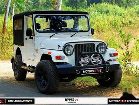 2017 Mahindra Thar CRDe MT for sale at low price in Bhopal