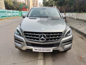 Mercedes-Benz M-Class ML 250 CDI AT for sale in Mumbai
