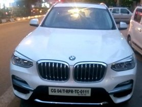 Used BMW X3 xDrive20d Expedition AT car at low price in New Delhi
