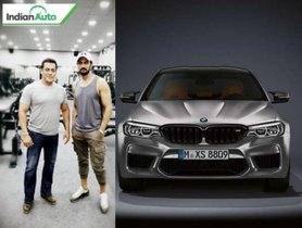 Salman Khan Gifts BMW M5 Competition To Dabangg-3 Co-Star Kiccha Sudeep