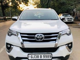 2017 Toyota Fortuner AT for sale at low price in Ahmedabad