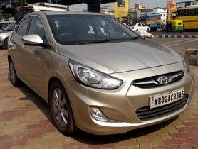 Hyundai Verna 1.6 SX 2013 MT for sale in Kolkata