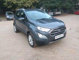 2017 Ford EcoSport 1.5 Petrol Titanium MT for sale at low price in New Delhi