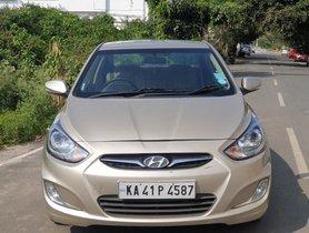 2012 Hyundai Verna 1.6 CRDi EX MT for sale at low price in Bangalore