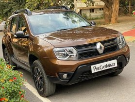 Renault Duster 2016-2019 Petrol RXS CVT AT for sale in Bangalore