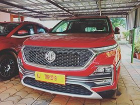 MG Hector, 2019, Petrol AT for sale in Edapal