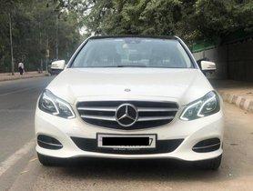 Used Mercedes Benz E-Class 2015-2017 E250 CDI Avantgarde AT 2015 in New Delhi