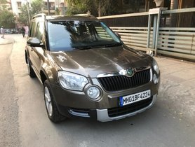 2012 Skoda Yeti Elegance 4X4 MT for sale at low price in Mumbai