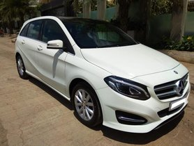 2015 Mercedes Benz B Class B200 CDI AT for sale at low price in Pune