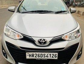 Toyota Yaris G CVT AT 2018 in New Delhi