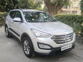 Used Hyundai Santa Fe 2WD AT car at low price in New Delhi