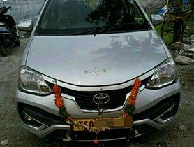 Toyota Etios VD MT 2017 in Hyderabad