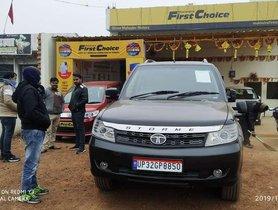 Used Tata Safari Storme EX 2015 MT for sale in Chitrakoot