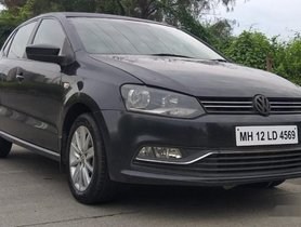 Used Volkswagen Polo Petrol Highline 1.6L MT 2014 in Mumbai