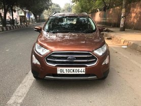 Ford EcoSport 1.5 Petrol Titanium 2017 MT for sale in New Delhi