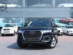 2018 Audi Q7 3.0 TDI Quattro Technology AT for sale at low price in Ludhiana