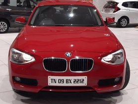 BMW 1 Series 118d Sport Line AT 2014 in Chennai