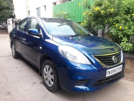 Used 2013 Nissan Sunny Diesel XV MT 2011-2014 for sale in Chennai