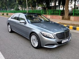 Used 2015 Mercedes Benz S S 500 L Launch Edition MT for sale in New Delhi
