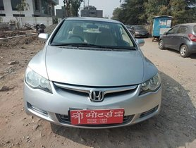 Used Honda Civic 1.8 V MT 2006-2010 car at low price in Indore