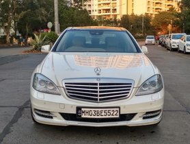 2012 Mercedes Benz S Class S 500 AT 2012 for sale in Mumbai