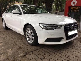 2013 Audi A6 AT 2011-2015 for sale at low price in Pune