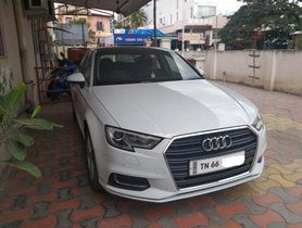 Used Audi A3 35 TDI Technology AT 2017 in Coimbatore