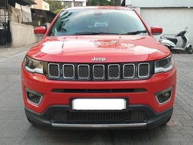 Jeep Compass Version 1.4 Limited AT 2018 in Pune