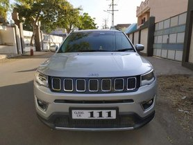 2018 Jeep Compass 2.0 Limited Option MT for sale at low price in Rajkot