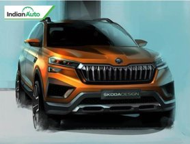 Skoda Reveals Official Sketches of Upcoming Compact SUV
