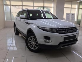 Used Land Rover Range Rover Evoque  2.2L Pure AT car at low price in Mumbai