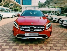 2017 Mercedes Benz GLA Class AT for sale at low price in Hyderabad