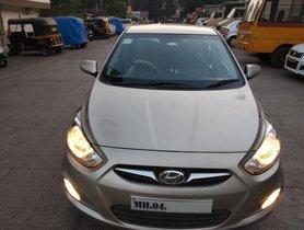 Used Hyundai Verna CRDi MT car at low price in Thane