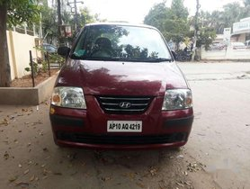 Used Hyundai Santro Xing GLS MT for sale in Hyderabad at low price