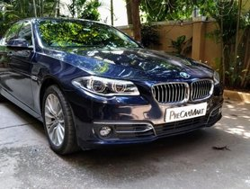 2016 BMW 5 Series AT 2013-2017 for sale in Bangalore