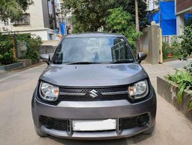 Used 2017 Maruti Suzuki Ignis MT for sale in Hyderabad