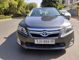2013 Toyota Camry AT for sale at low price in Ahmedabad