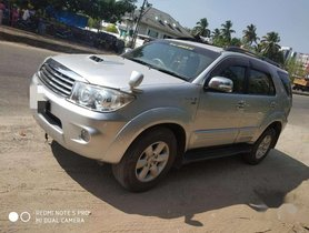 Used 2010 Toyota Fortuner MT for sale in Thrissur