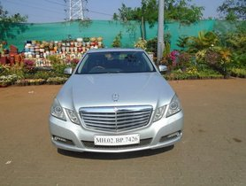 Used Mercedes Benz E-Class 2009-2013 E 250 Elegance AT 2010 in Mumbai