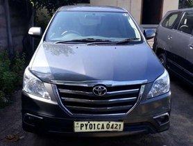 Used Toyota Innova MT for sale in Pondicherry