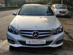 Used Mercedes Benz E-Class E250 CDI Avantgrade AT 2013-2015 car at low price in Mumbai