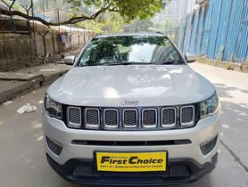 Used 2019 Jeep Compass AT for sale in Thane