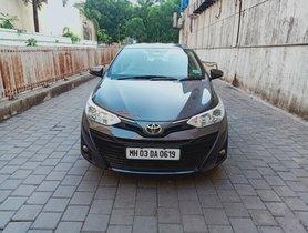 Used Toyota Yaris G CVT AT car at low price in Thane