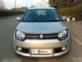 Used Maruti Suzuki Ignis, 2017, Petrol MT for sale in Gurgaon