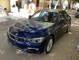 Used BMW 3 Series 320d Luxury Line AT 2019 in Ahmedabad